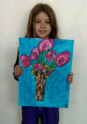 Art 4  Ages 4-6 Summer Camps 2020