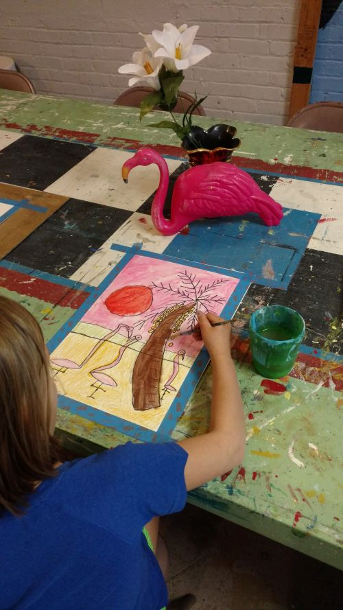 Art 1 Ages 3 1/2 to 6 Summer Camps 2019