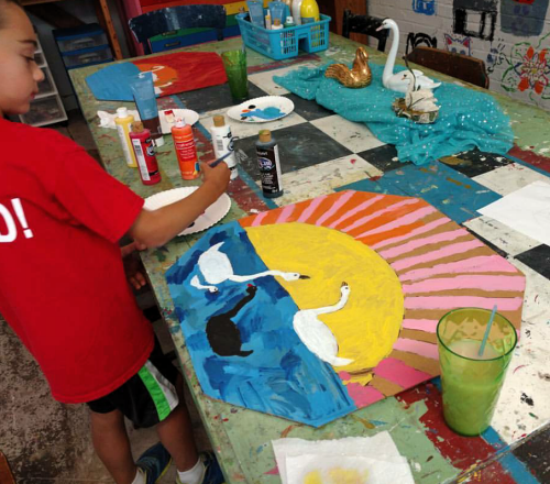 Art 2 Ages 7-12 Summer Camps 2020